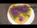 Giới thiệu những chiêu dùng kim y tế khi vẽ hoa trên bánh thạch rau câu 3D Huyền Đào