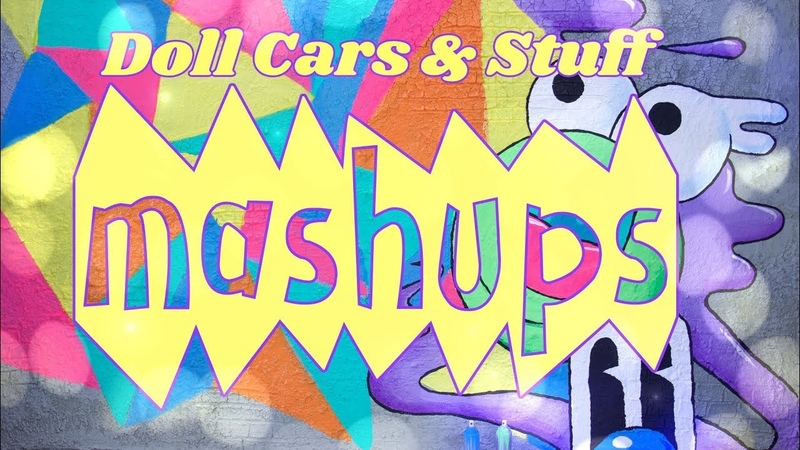 Mash Ups: Doll Cars and Stuff - Segway | Duct Tape Car | Hover Board more