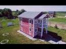 Дом 100 м2 в ирландском стиле в коттеджном посёлке Изумрудная долина Симферопольское шоссе