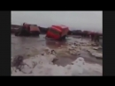 Русские сумасшедшие водители на севере Экстремальная работа