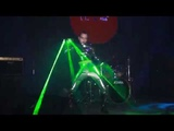 Fandom Cyber party - Rihanna SM - Meylis laser dance show