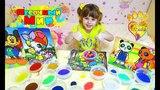 ПеСОчнЫЙ МИР!!! Картины из песка Детский песок Цветной песок для детей)))