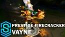 Prestige Firecracker Vayne Skin Spotlight - Pre-Release - League of Legends