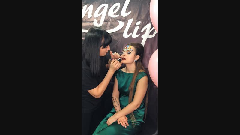 Нанесение Angel 👄