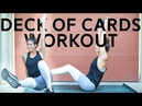 Tough Deck of Cards Workout (Can Be Split in Half!)