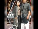 Каджол и Аджай с шоу Идол Индии .