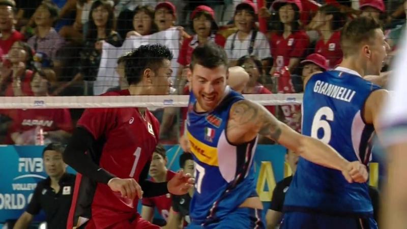 Re-live- WM der Männer- Gruppe A - Italien vs. Japan - Sportdeutschland.TV