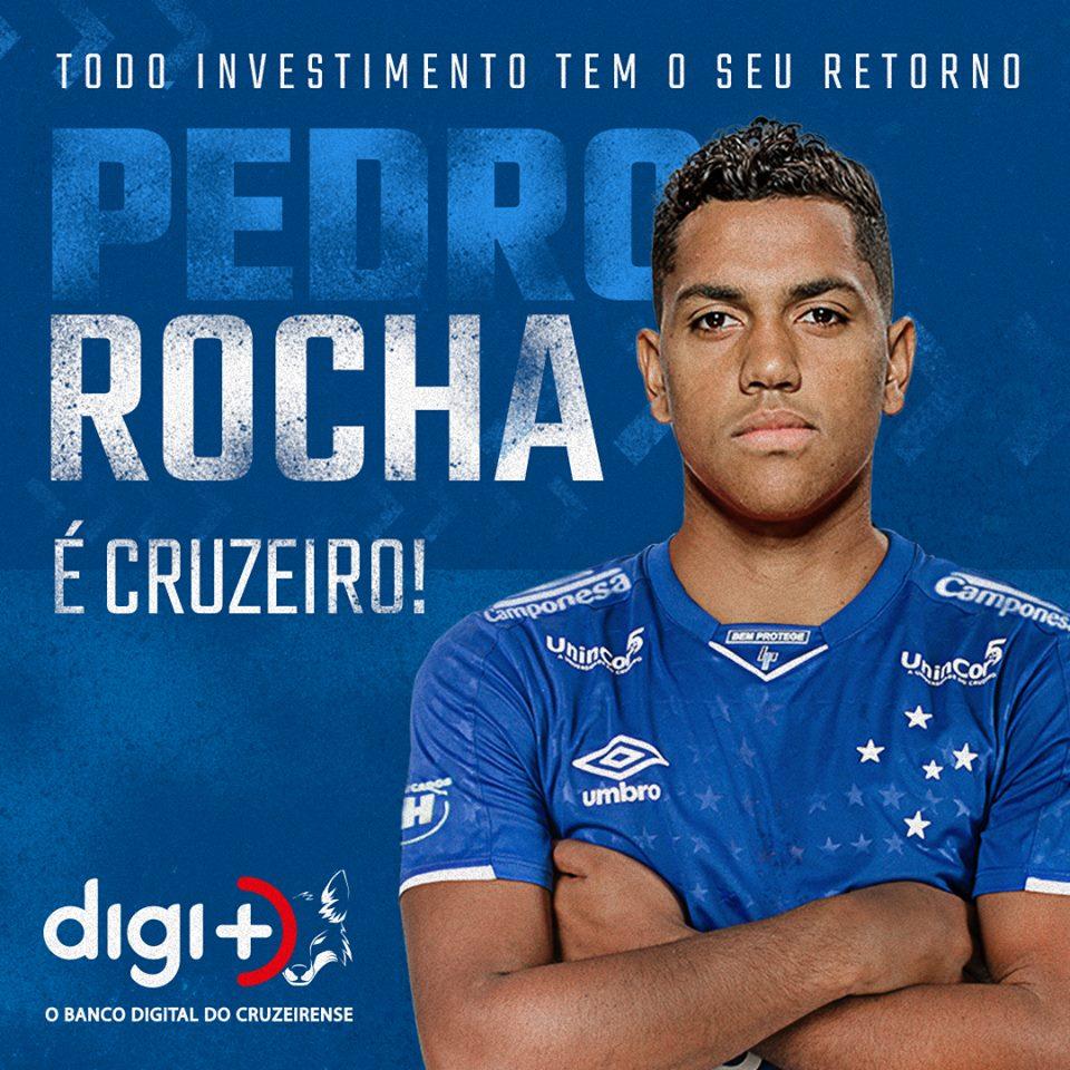 """Педро Роша """"Крузейро"""""""