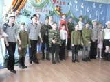 Выступление воспитанников младших классов коррекционной школы-интернат 07.05.2019