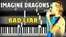 Imagine Dragons Bad Liar Piano Tutorial Sheet Music midi