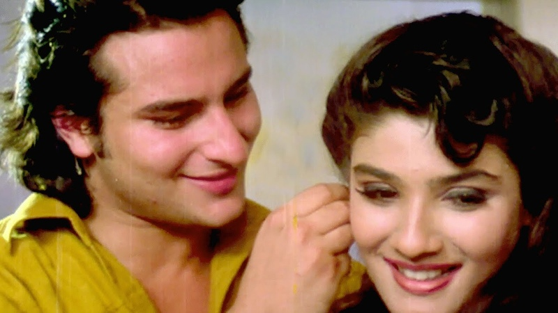 Ek Yaad Ke Sahare - Saif Ali Khan, Raveena Tandon, Imtihaan Song | Bollywood Song