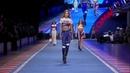 Gigi Hadid, Bella Hadid, Anwar Hadid on the runway for Tommy Hilfiger show in Milan · coub, коуб
