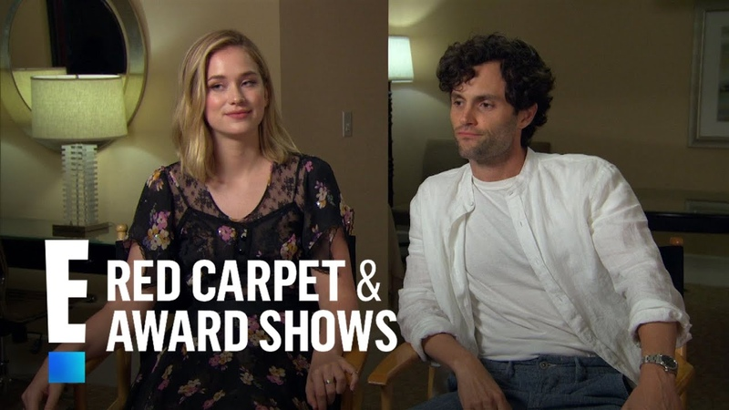 Penn Badgley, Elizabeth Lail Shay Mitchell Talk New Series You | E! Red Carpet Award Shows