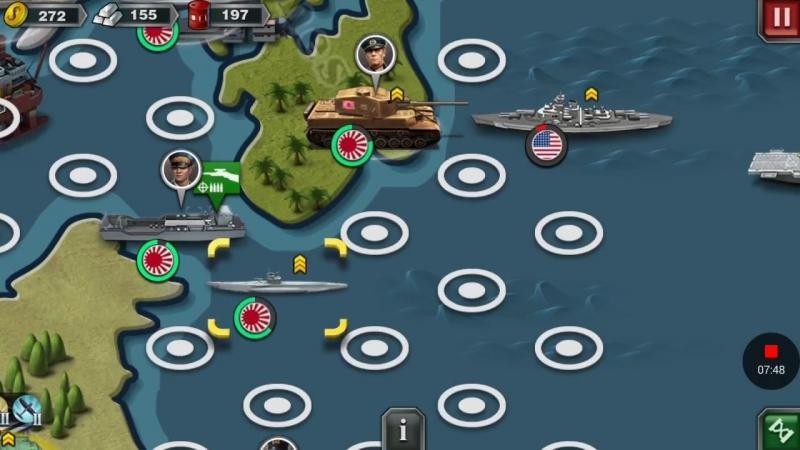 Ось(Япония)—9 Pacific War III—World Conqueror 3