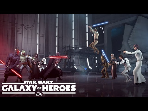 Star Wars: Galaxy of Heroes Available Now on the App Store Google Play