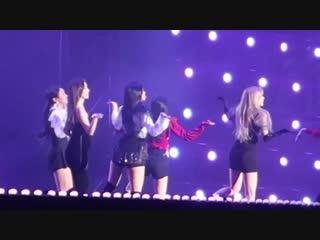 181225 Red Velvet (레드벨벳) x 트와이스(TWICE) 가요대전 직캠 - Dreams come true