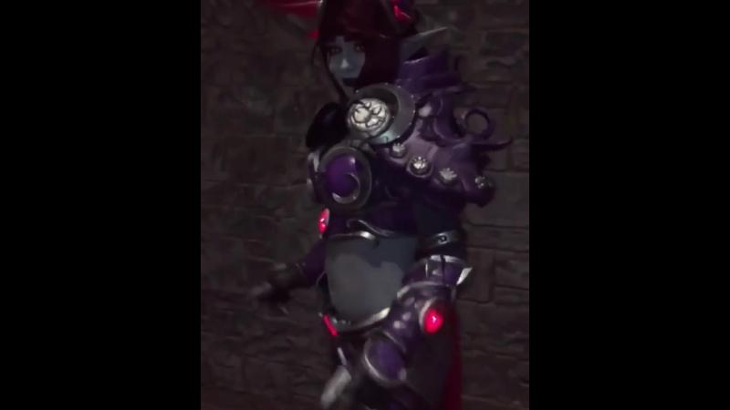 Night Elf Dance in my Corrupt Ysera Armor 🌙