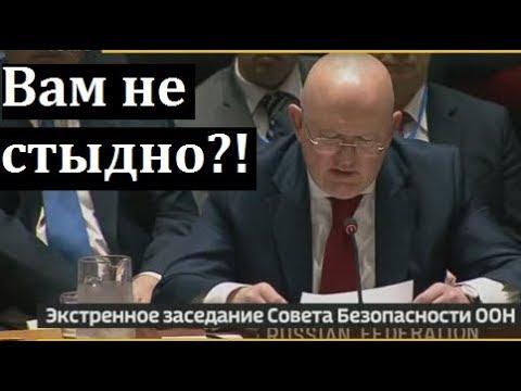 США ПЛЕВАТЬ на все правила и законы! Срочное заявление Небензи в ООН по ударам в Сирии