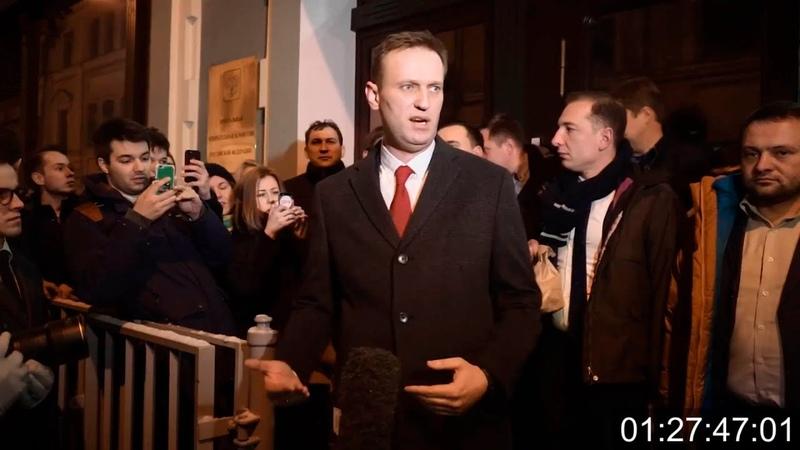 Фильм СРОК 2018 год, про Алексея Навального и оппозицию, реж. А. Расторгуев