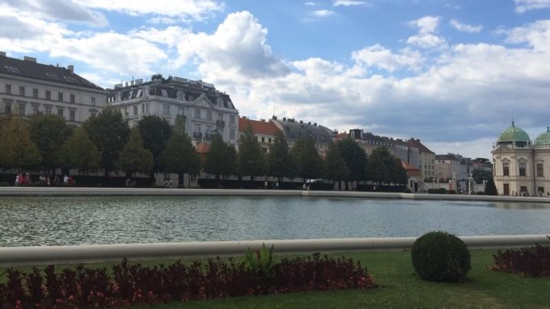 Великолепный Бельведер в Вене (Vienna)