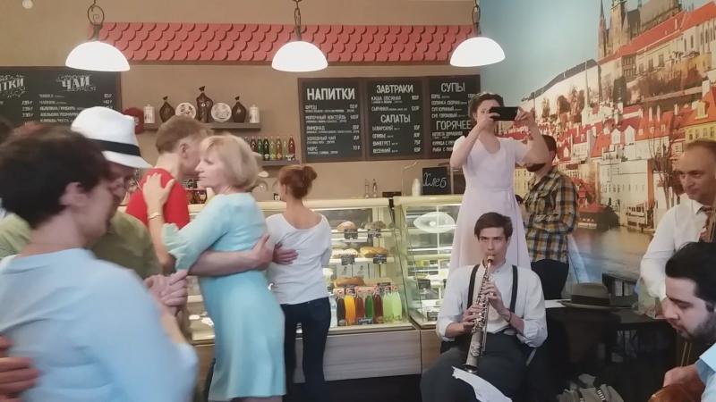 Вечеринка Balboa Room в Пражских булочных