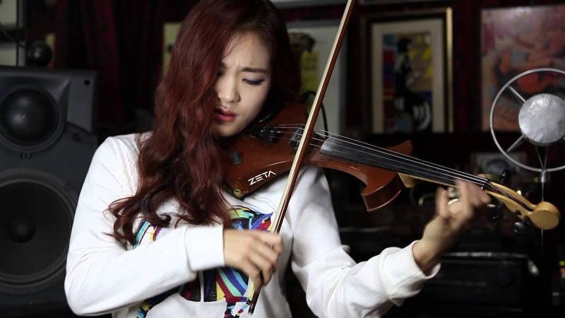 동백아가씨 Electric violinist Jo A Ram