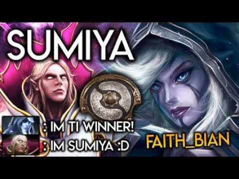 Sumiya Invoker God vs TI6 WINNER Drow Ranger High Damage Push Strat Dota 2