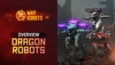 War Robots Overview New Flying Robots Ao Jun Ao Guang Ao Qin WR Dragons