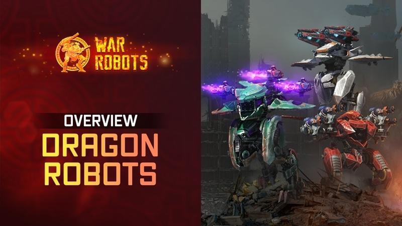 War Robots Overview New Flying Robots Ao Jun Ao Guang Ao Qin | WR Dragons