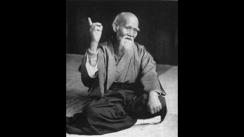 Aikido - Morihei Ueshiba - Way of Harmony.