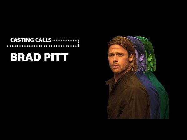 What Roles did Brad Pitt Turn Down | Casting Calls