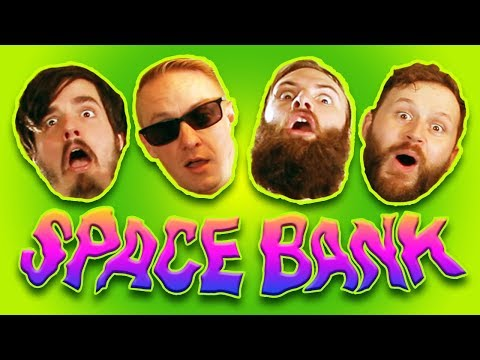 Steaksauce Mustache Space Bank Official Music Video
