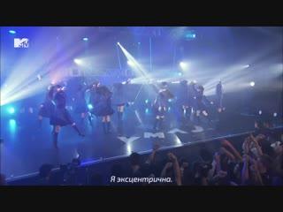 Keyakizaka46 - eccentric [live] (рус.суб)