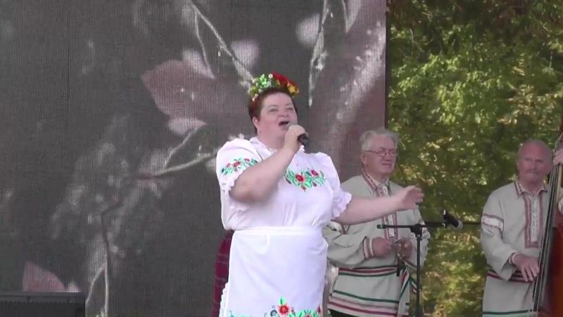 Валентина Петровская на Гала-концерте праздника-феста На зямлі Святой Сафіі