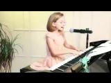 Песня про лягушку.как хорошо поёт девочка