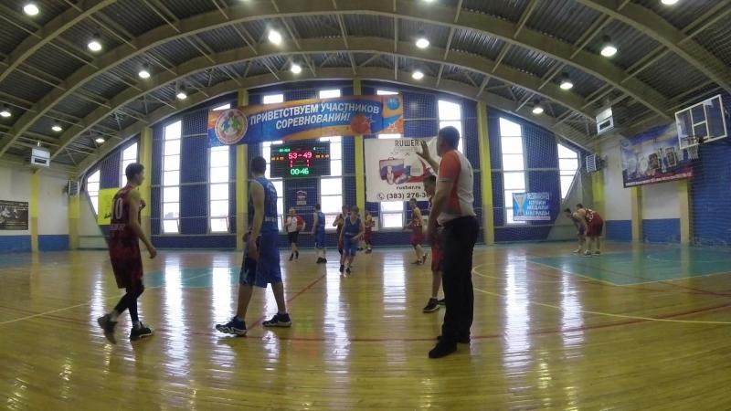 Юниор-Алтай баскет 4 период конец
