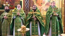 Схиархимандрит Серафим Бит Хариби на литургии в храме Рождества Христова г Краснодара
