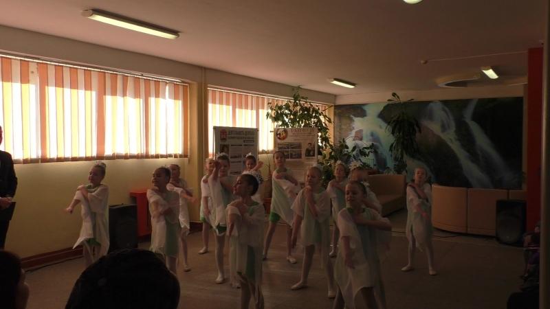 Ромашковые поля. Выступление на ВЫБОРАХ 2018 в МАОУ СОШ №6 с УИОП г.Калининграда