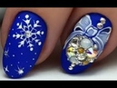 15 New Year Nail Art Designs | Christmas Nail Art Tutorials Winter 2019 70
