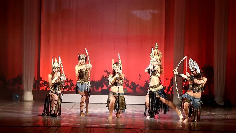 Амазонки Отчетный концерт Жемчужина Нила