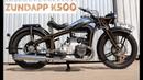 Цундапп К500/Zundapp K500 - очень красивый мотоцикл от Ретроцикла