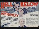 Hell Below (1933) Robert Montgomery, Walter Huston, Madge Evans