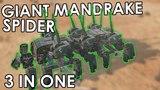 6x MANDRAKE SPIDER - Crossout Fusion