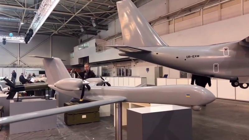 Antonov unveils long-endurance unmanned aircraft system concept