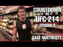 Super Sage Northcutt Upper Body Workout and Nutrition