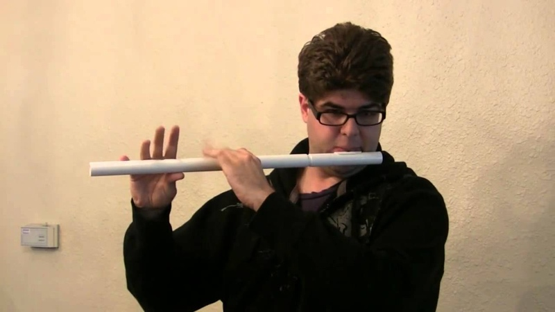 Ben Jaber plays the reel Spike Island Lasses on a Tipple PVC Flute