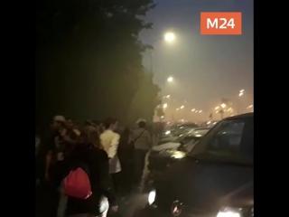 Москва в дыму победы
