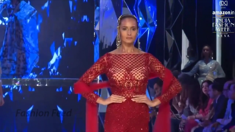 The Grand Finale By Suneet Varma _ Spring_Summer 2018 _ India Fashion Week