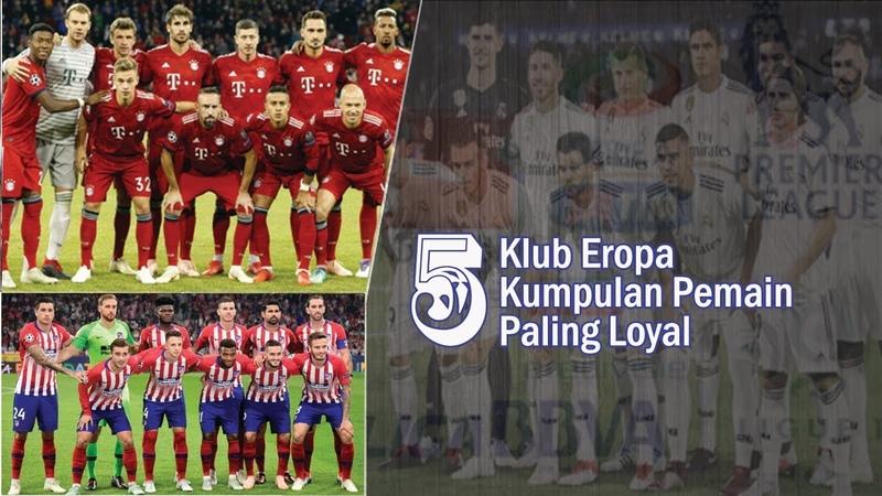 5 Klub Eropa dengan Kumpulan Pemain Paling Loyal