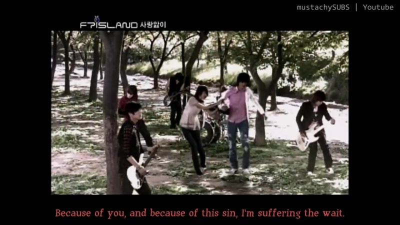 [HD MV] FT ISLAND - 사랑앓이 [Love Sick] (English Subs)